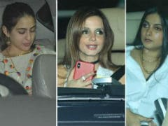 Sara Ali Khan, Sussanne Khan And Rhea Kapoor At Abu Jani's Birthday Party. See Pics
