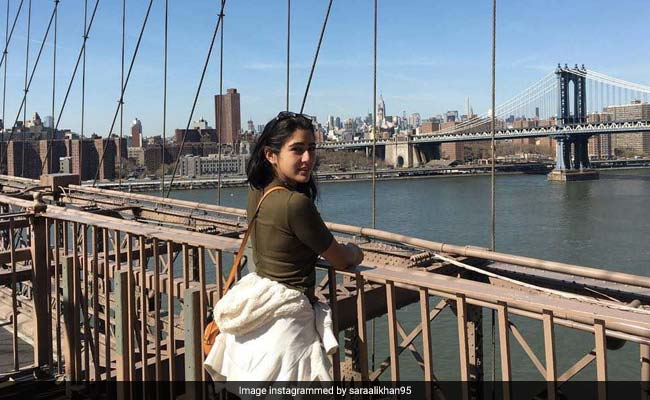 Sara Ali Khan Is Clearly Still 'Dreaming' Of New York. Here's Proof