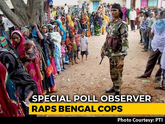 """Video : """"Bengal Is Like Bihar Of 10-15 Years Back"""": State's Special Poll Observer"""