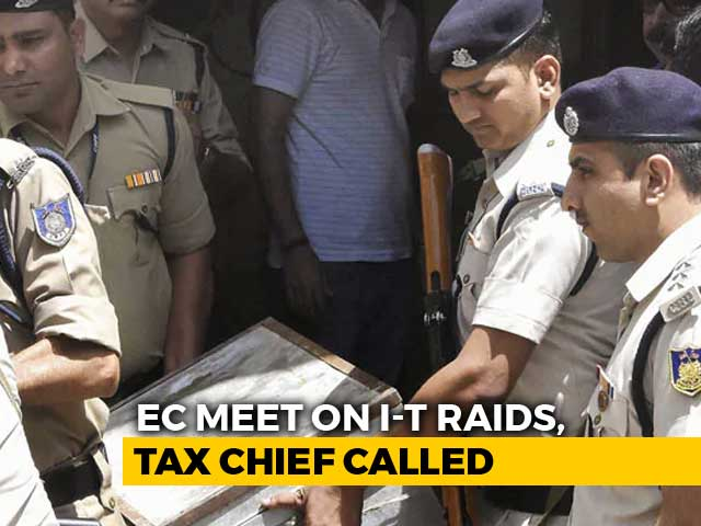 Video : On Raids, Government Silent On Key Point Raised By Election Commission