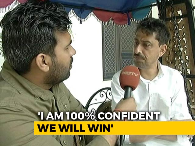 Video : 100% Confident Of Winning: Congress's Saharanpur Candidate Imran Masood