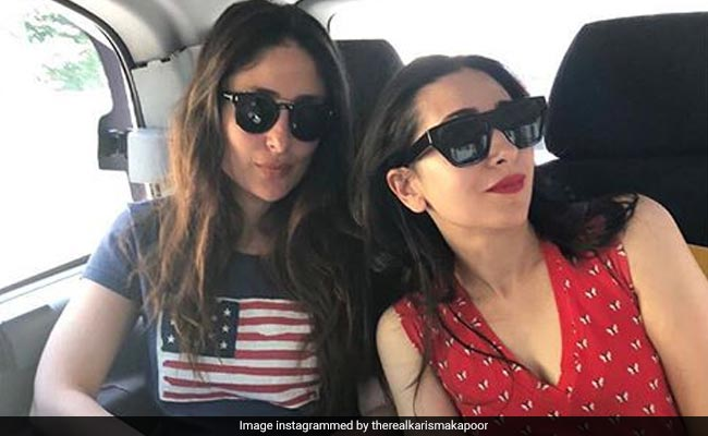 Kareena And Karisma Kapoor's Monday Fuel Is 'Sibling Love'