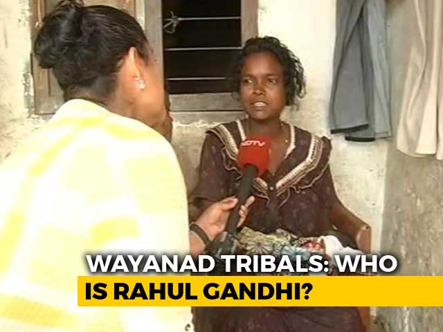 Video : Most Of Wayanad's Poorest Tribals Don't Know Their Poll Candidates