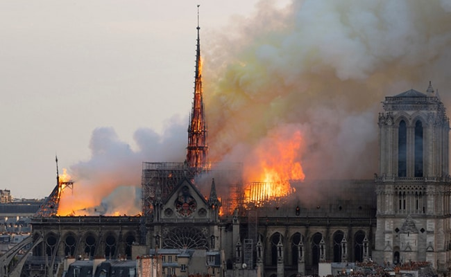 'We Will Rebuild' Notre Dame, Vows Macron After Catastrophic Fire
