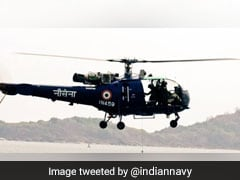 Indian Navy Helicopter Ditches In Arabian sea, Crew Safe