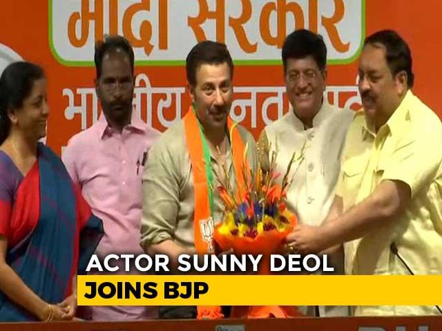 Video : Actor Sunny Deol Joins BJP