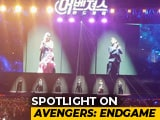 Video : Robert Downey Jr, Jeremy Renner, & Brie Larson Entertain Fans & Media In Seoul
