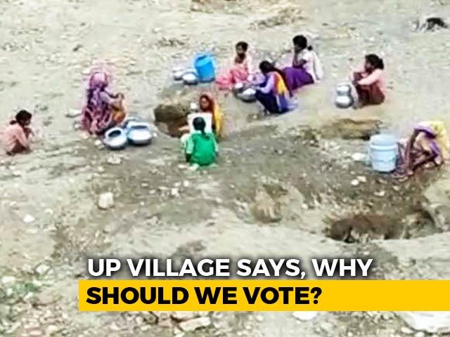 Give Water Or No Vote, Says Remote Village in Uttar Pradesh