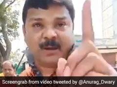 सत्ता का नशा : मध्य प्रदेश में मंत्री जी के भतीजे ने दिखाया ट्रैफिक पुलिस को रौब, देखें Video