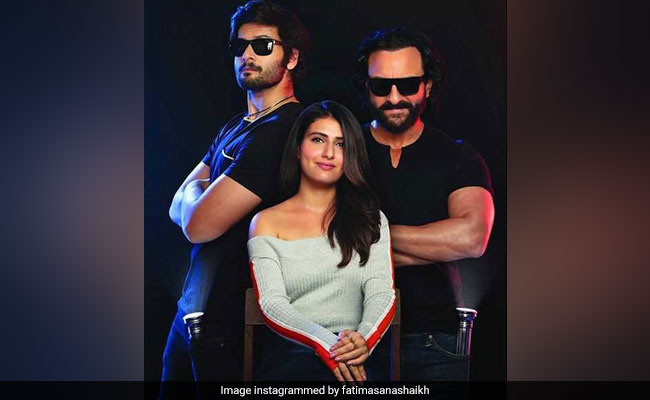 Bhoot Police First Look: Saif Ali Khan, Fatima Sana Shaikh And Ali Fazal Are 'Hilariously Spooky' Ghostbusters