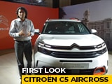 Video : Citroen C5 Aircross First Look