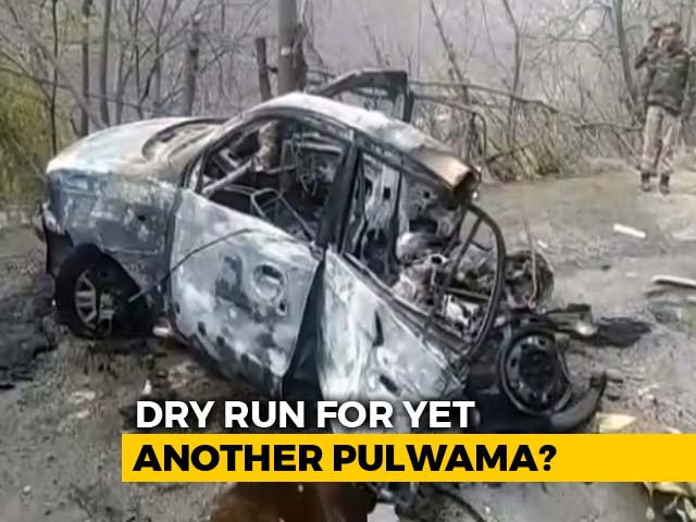 Video : Flashes Of Pulwama As Banihal Car Blast Again Points To Lapses