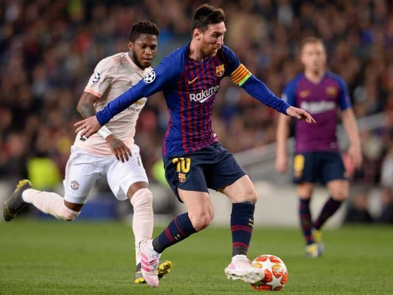 Careless Manchester United Undone By Lionel Messi Double As Barcelona Cruise Into Semis