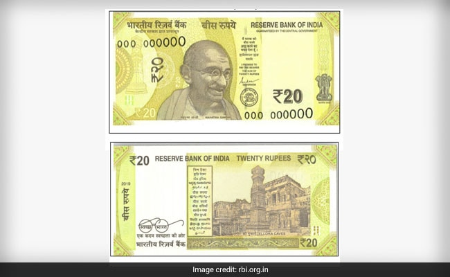 RBI To Issue New Rs 20 Notes: Here Are 10 Things To Know