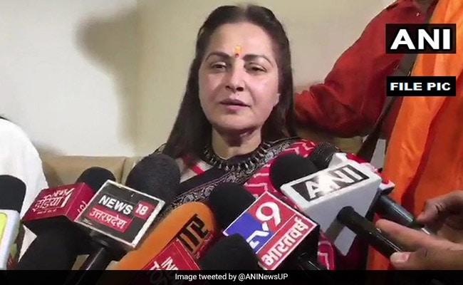 'Azam Khan Won Elections In Past Through Fake Votes', Says Jaya Prada