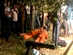 5-Year-Old Rescued From 110-Feet Borewell In Mathura After 8 Hours