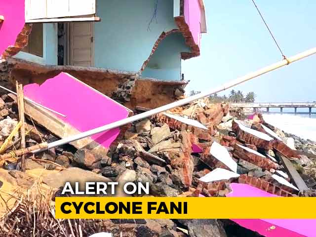 Video : Sea Erosion Damage In Thiruvananthapuram, Days Before Cyclone Fani Expected
