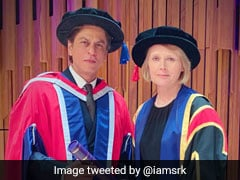 Shah Rukh Khan Gets Honorary Doctorate From University Of Law, London