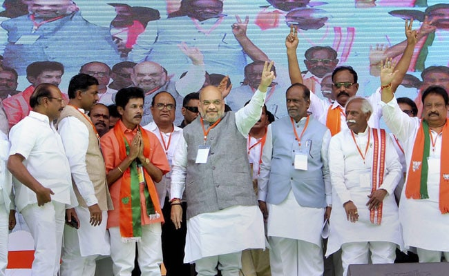 Only PM Modi Can Give A Strong Government, Says Amit Shah