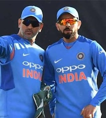 Fortunate To Have MS Dhoni Behind The Stumps, Says Virat Kohli