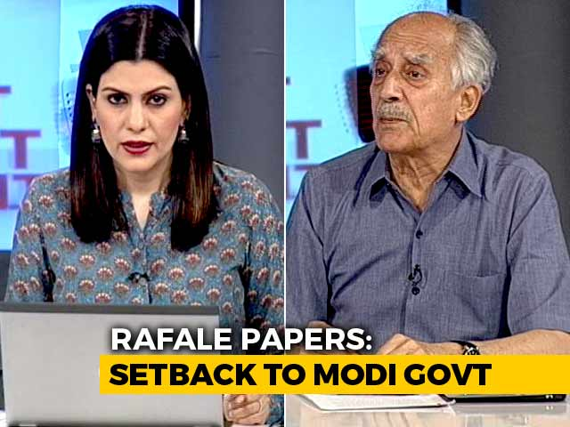 Video : Supreme Court Has Preserved Freedom Of Speech: Rafale Petitioner Arun Shourie