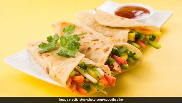 Paneer And Salsa Tortilla Recipe Ndtv Food
