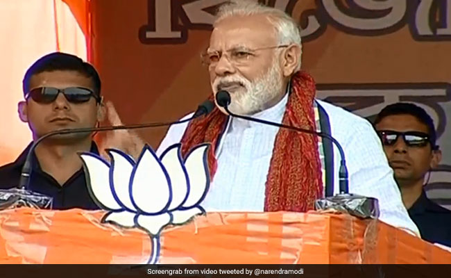 Congress, TMC, Left Has Never Prioritised The Development Of The Poor, Says PM Modi: Highlights