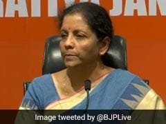 We Respect Rajiv Gandhi, But Can Talk About His Misrule Too: Nirmala Sitharaman