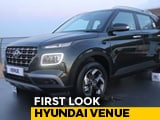 Hyundai Venue First Look
