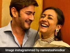 Namrata Shirodkar Is 'Addicted' To Husband Mahesh Babu. Here's Proof