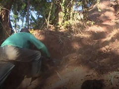 Video: Frustrated By Government Inaction, Man Builds Road Himself