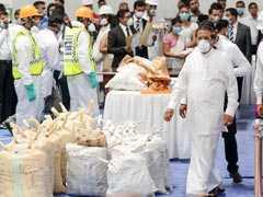 In President Sirisena's Presence, Sri Lanka Destroys 800 Kg Cocaine