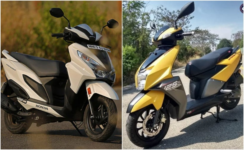 Tvs Outs Honda In March 2019 Two Wheeler S
