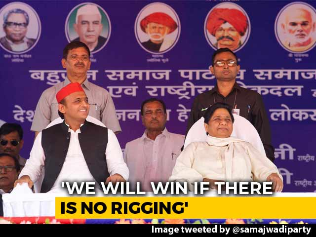 "Video : ""BJP Will Lose Because Of Policies Inspired By Hatred"": Mayawati"