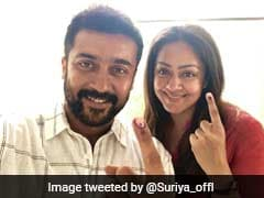 Lok Sabha Polls 2019: Rajinikanth, Kamal Haasan, Suriya Up Star Power In Chennai Polling Booths