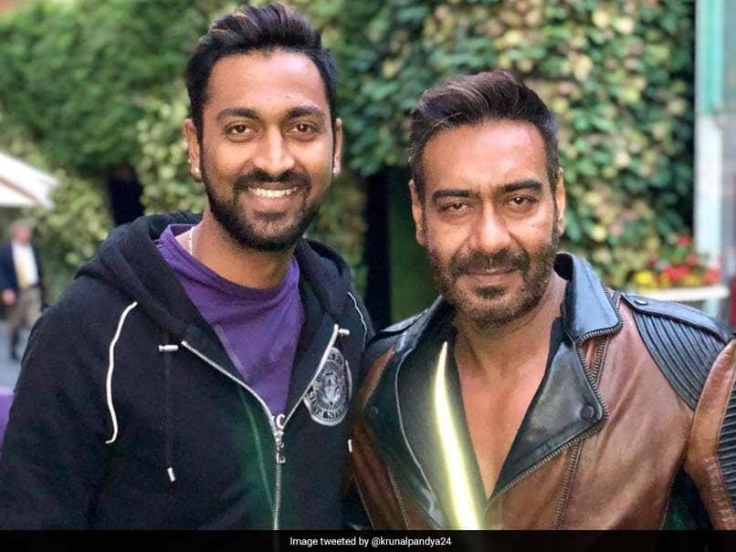 Krunal Pandya Responds To Movie Offer From Ajay Devgn