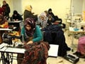 It's A Race Against Time For Rohit Bal's Team Of Kashmiri Women Stitching Clothes For The Lakme Fashion Week