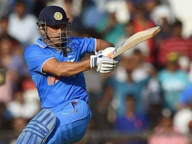 """MS Dhoni """"Vital Cog"""" For Team India At World Cup, Says Kiran More"""