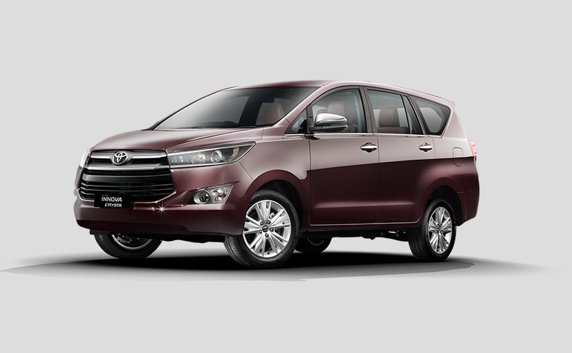 The new Toyota Innova Crysta now gets new interior colour scheme and updates features.