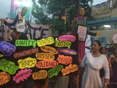 "With ""Azadi"" Slogans, Thousands Of Women Take To Streets All Over India"