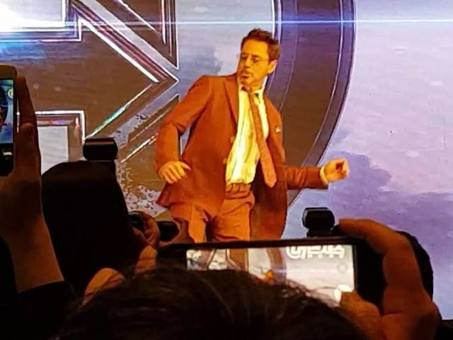 Avengers Endgame: Roberty Downey Jr Breaks Into A Dance In Seoul