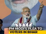 "Video : ""Congress Couldn't Finish Work In 70 Years, How Can I In 5?"": PM In Bihar"