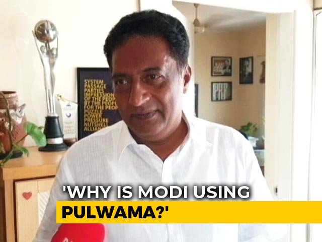 Video : Whole Country Is Voting With Fear, Says Prakash Raj
