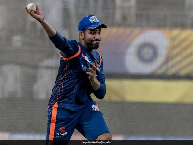 "Watch: Rohit Sharma-Led Mumbai Indians Go Through ""Tough Training Session"" At Chepauk"