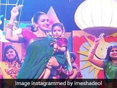 Pregnant Esha Deol Joins Daughter Radhya's First Dance Performance At School. See Pics