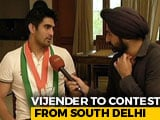 "Video : ""Didn't Know What Was Behind The Mask"": Vijender Singh Jabs PM Modi"