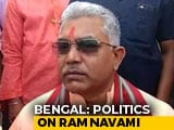 "Video : ""This Is Country Of Ram"": Bengal BJP, Trinamool Lock Horns On Ram Navami"