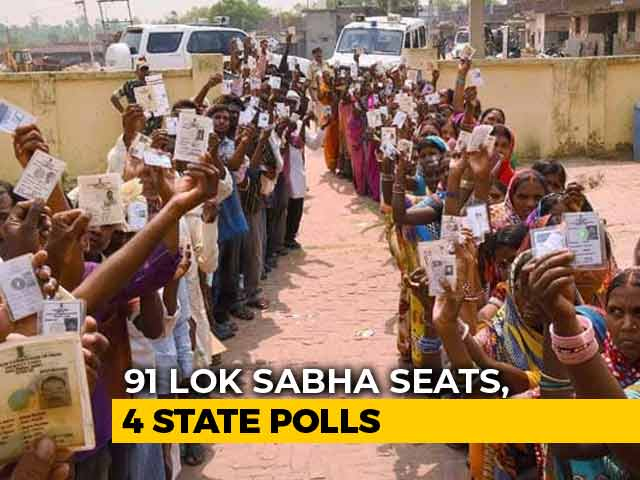 Video : General Elections Begin, 91 Lok Sabha Seats To Vote Today In First Phase