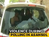 Video : Clashes In Poll Booth In Bengal's Asansol, Babul Supriyo's Car Vandalised