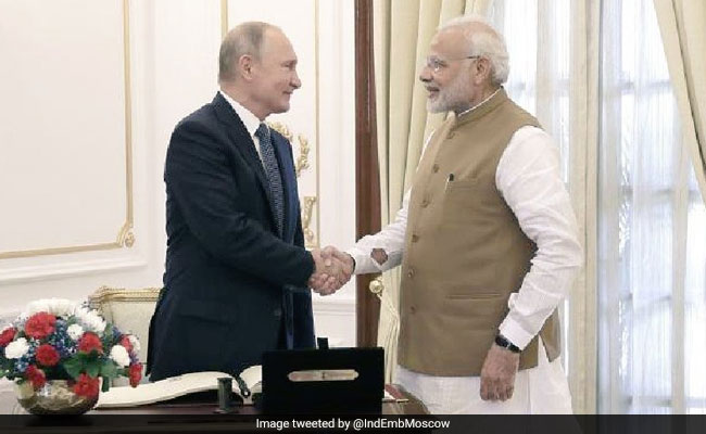 PM Modi To Be Honoured With Russia's Highest Civilian Award